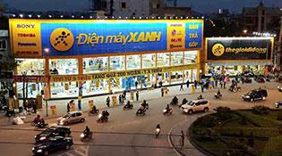 Điện máy Xanh đã phủ sóng 51/63 tỉnh với 86 siêu thị