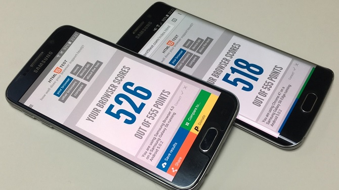 Samsung Browser phiên bản 4 chuẩn bị ra mắt