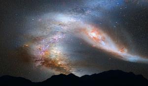 Thiên hà lao về phía Trái Đất với tốc độ 400.000 km/h