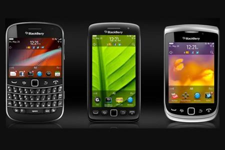 Quảng cáo bẻ khóa mật khẩu Blackberry, iPhone