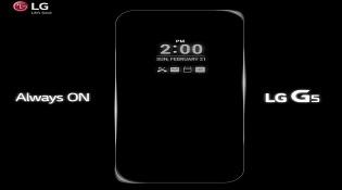 """LG xác nhận G5 có tính năng """"Always On Display"""""""