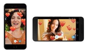 Làm video mừng ngày Valentine trên Skype