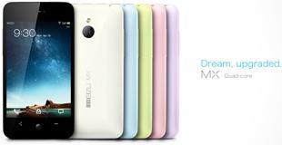 Smartphone Meizu MX lõi tứ trình làng