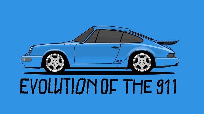 50 năm lịch sử siêu xe Porsche 911 gói gọn trong 90 giây