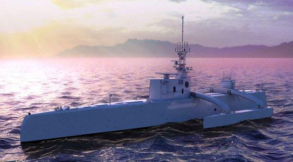 DARPA sẽ tung robot tự hành săn tàu ngầm vào tháng Tư