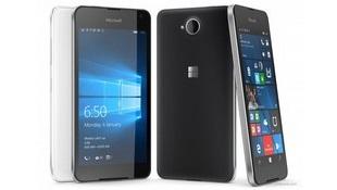 Lumia 650 ra mắt: màn AMOLED 5 inch, khung nhôm, Windows 10, giá 200 USD