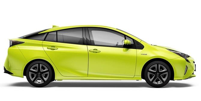 Xe Prius phủ màu xanh là để... bảo vệ môi trường