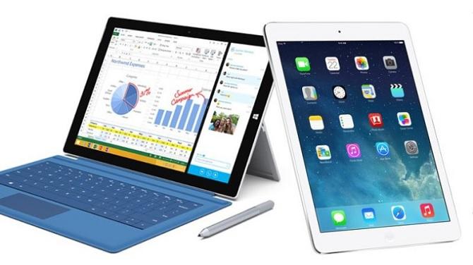 iPad đang mất dần thị phần vào tay Surface