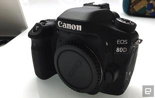 Canon EOS 80D chính thức ra mắt, giá 1200 USD