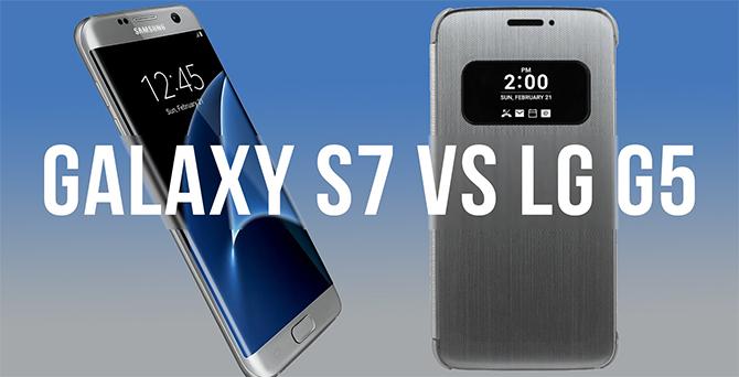So sánh cấu hình LG G5 và Galaxy S7 dựa trên thông tin rò rỉ
