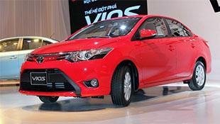 Vios bán chạy nhất Việt Nam tháng 1/2016