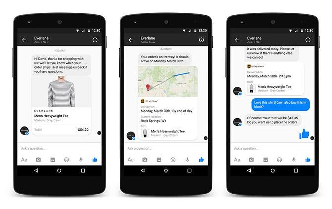 Tầm nhìn biến Messenger thành kênh giao tiếp trực tiếp giữa người dùng và các khách hàng sẽ sớm trở thành hiện thực.