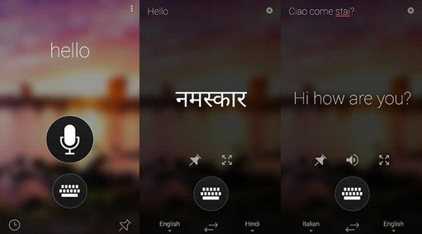 Microsoft ra ứng dụng dịch trực tiếp cạnh tranh với Google Translate