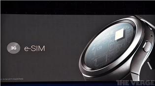 Gear S2 sẽ là thiết bị đầu tiên dùng eSIM