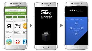Sự kiện Galaxy S7 sẽ được phát qua video 360 độ