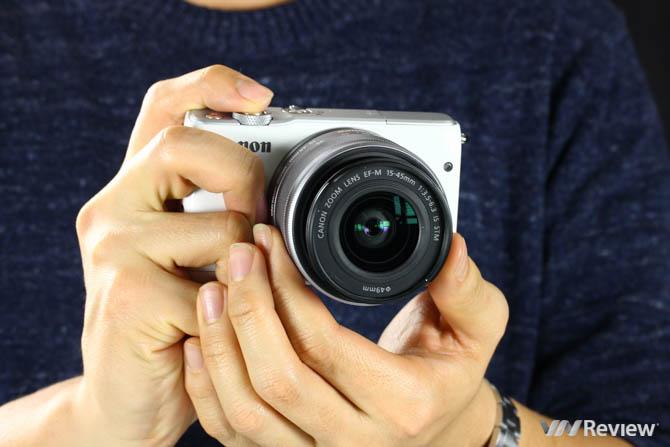 Đánh giá Canon EOS M10
