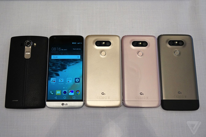 5 điểm đáng chú ý nhất về LG G5