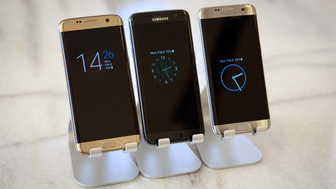 Trên tay Samsung Galaxy S7 và S7 Edge