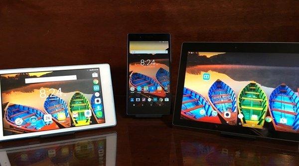 Lenovo trình làng bộ ba máy tính bảng Tab3 thế hệ mới