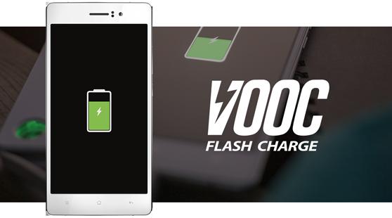 OPPO giới thiệu VOOC thế hệ mới, sạc đầy pin 2.500 mAh trong 15 phút