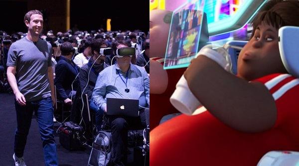 Bức ảnh gây lo ngại về tương lai nhân loại của Mark Zuckerberg