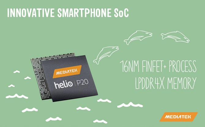 MediaTek Helio P20, chip di động đầu tiên hỗ trợ chuẩn bộ nhớ LPDDR4X