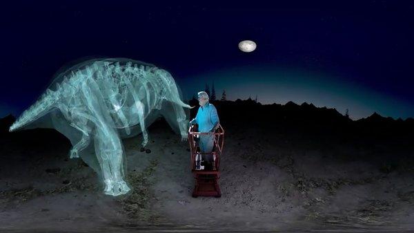 'Bước cùng' loài khủng long lớn nhất thế giới bằng công nghệ thực tế ảo