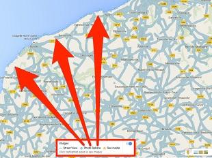 Google Maps tiếp tục phô bày nhiều hình ảnh hài hước