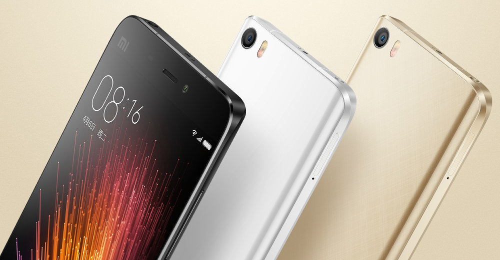 Xiaomi Mi 5 chính thức: màn 5.15 inch, Snapdragon 820, 4GB RAM, vân tay