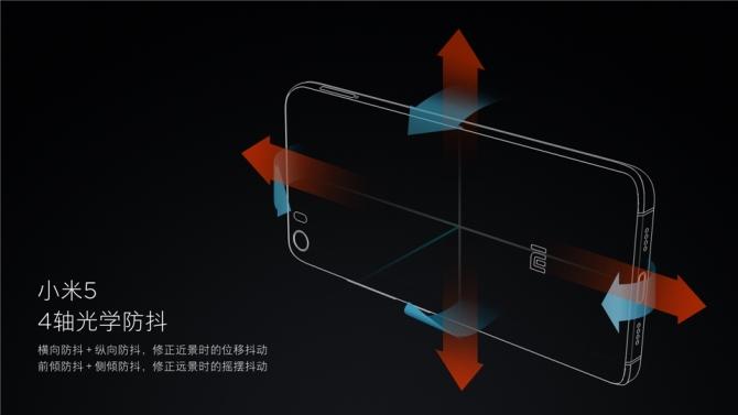 """Xiaomi """"khoe"""" khả năng chống rung 4 trục của Mi 5"""