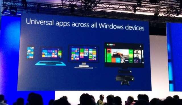 Xbox One sẽ chạy được ứng dụng Windows 10