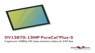 OmniVision giới thiệu cảm biến 13MP mới, quay phim 300fps