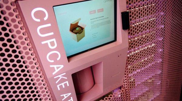 Xuất hiện ATM bán bánh... cupcake