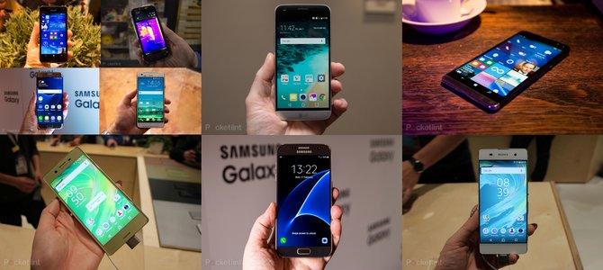 Những smartphone 'đình đám' nhất MWC 2016