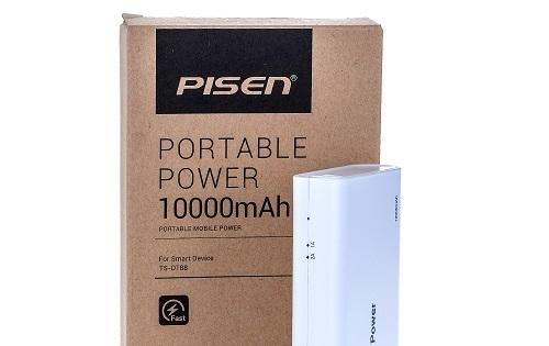 Pin dự phòng Pisen 10.000mAh giá sốc trong ngày duy nhất 29/02