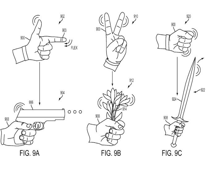 Bản quyền của Sony hé lộ găng tay điều khiển với kính thực tế ảo