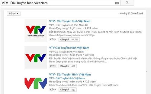 """Bị ngưng kênh Youtube, VTV nhận """"vi phạm bản quyền"""""""