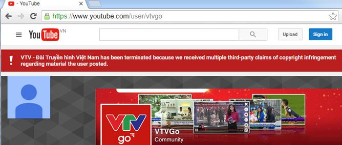 Thấy gì qua việc VTV thừa nhận vi phạm bản quyền YouTube?