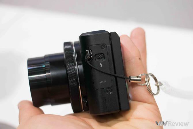 Cận cảnh Canon G7 X Mark II