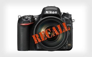 Nikon thu hồi D750 vì lỗi màn trập