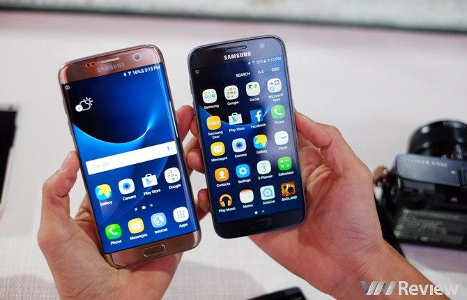 Galaxy S7 và S7 edge tại Việt Nam dùng chip Exynos, giá từ 16 triệu đồng