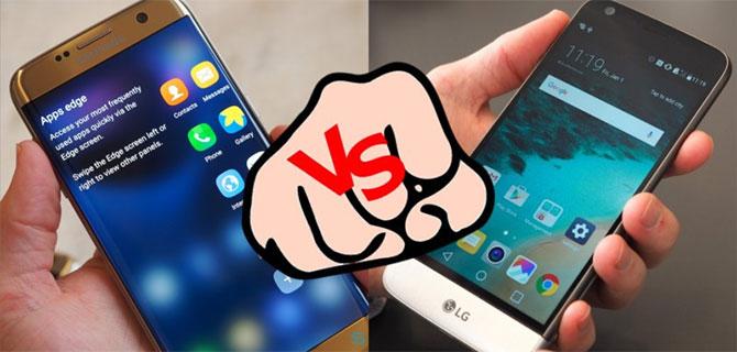 So tài Galaxy S7 và LG G5: rất khó lựa chọn