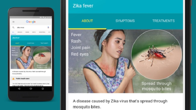 Google đóng góp 1 triệu USD để đối phó virus Zika