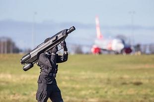 Drone có thể bị bắn hạ bằng súng Bazooka