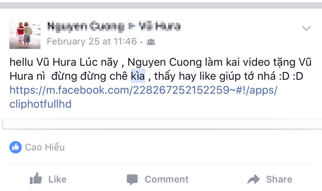 Ứng dụng lừa đảo, link độc hại lây lan trên Facebook ở VN