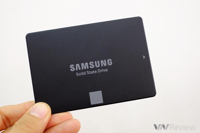Trải nghiệm nhanh SSD giá rẻ Samsung 750 EVO