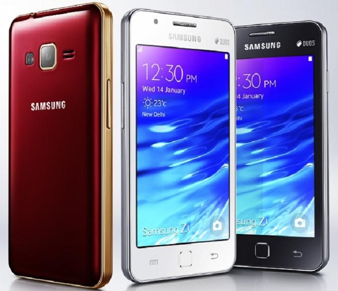 Samsung Z1 sắp có phiên bản 2016