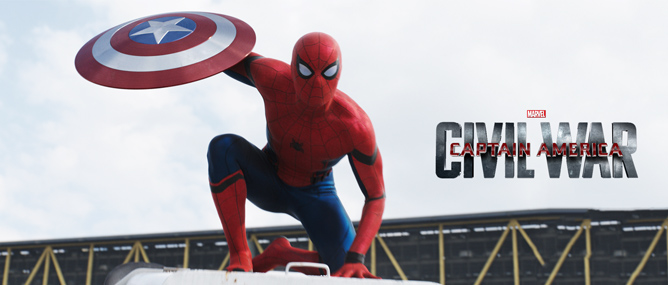 Spider-Man sẽ 'nhả tơ' trong Captain America: Civil War