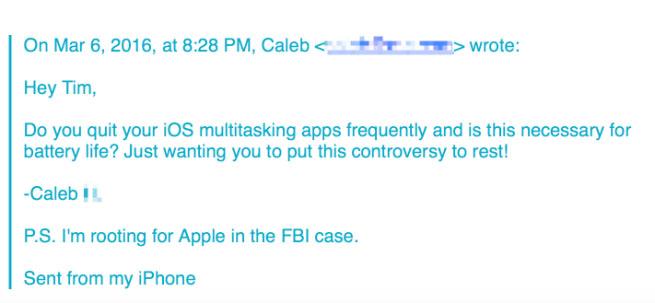Phó chủ tịch Apple khuyên người dùng không tắt ứng dụng thủ công