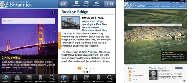 Bách khoa toàn thư Britannica ra mắt ứng dụng từ điển cho iOS